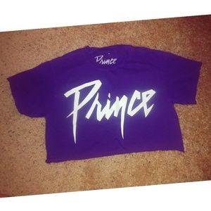 Prince crop top